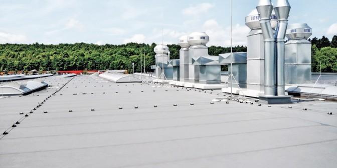 Flachdach Extrupol - Für alle Dacharten geeignet